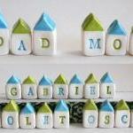CUSTOM NAME Miniature Houses